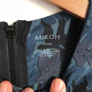 Mikoh Swim - Mikoh Lunar one piece swimsuit fern blue sz L